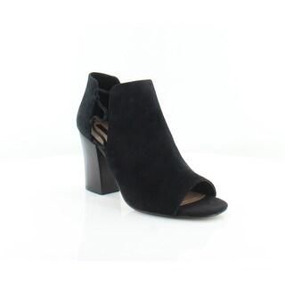Tahari Post Women's Heels Black