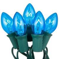 Wintergreen Lighting 67238 25 C7 5W Holiday Bulbs on Green Wire