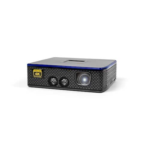 AAXA 4K1 LED Home Theater Projector, Native 4K UHD Resolution