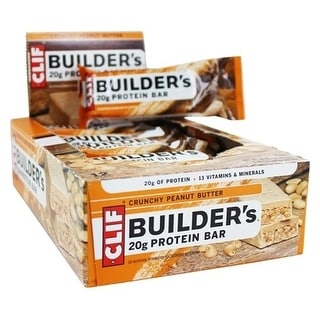 Clif Builder Bar Crunchy (Box of 12)