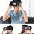 """Arealer VR Virtual Reality Glasses Headset 3D  Glasses w/ Magnetic Switch Head-Mounted Headband for All 3.5 ~ 6.0"""" Smart Phones - Thumbnail 1"""