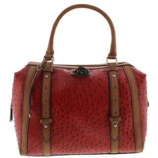 Red Leather Bags - Shop The Best Deals for Oct 2017 - Overstock.com