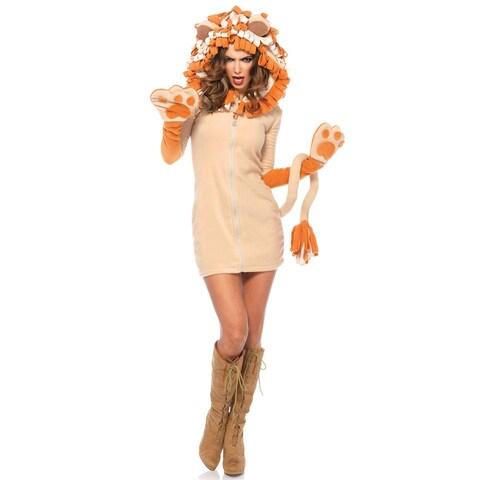 Leg Avenue Cozy Lion Adult Costume - Beige
