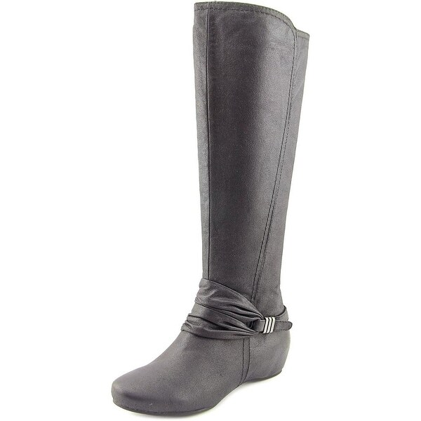 Baretraps Sapphire Round Toe Synthetic Knee High Boot