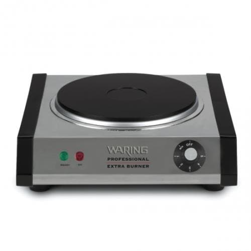 Waring - WEB300 - Single Solid Top Countertop Burner - 120V