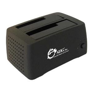 """""""SIIG SC-SA0412-S1 SIIG Cool Dual SATA to USB 2.0 Docking Station - 3.5"""" - 1/3H Hot-swappable - External"""""""