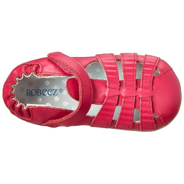 Shop Robeez Girls' Sandal - Mini Shoez