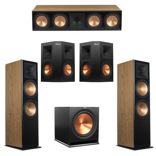 Klipsch 5 1 Cherry System with 2 RF-7III Floorstanding Speakers, 1 RC-64III  Center Speaker, 2 Klipsch RP-250S Surround Speakers,