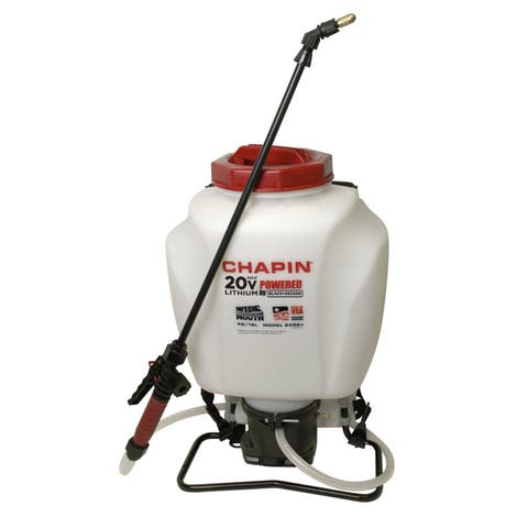 Chapin 63985 4-Gallon Mouth Battery Sprayer Backpack, 20-Volt
