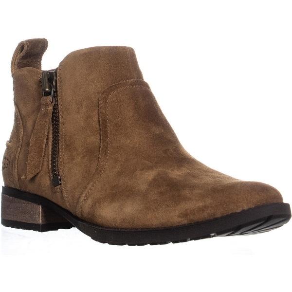 UGG Aureo Ankle Boots, Chestnut - 7.5