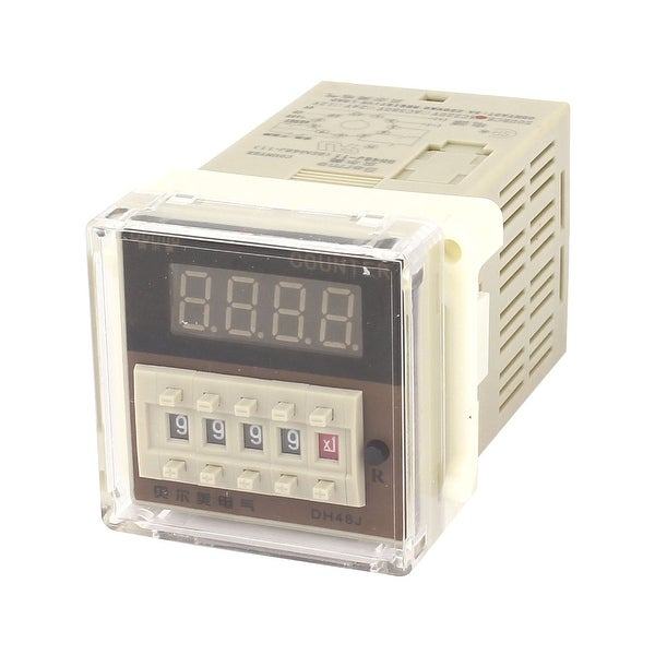 Shop DH48J-11A AC 220V 0-999900 11-Pin Adjustable Time Delay