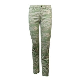 American Living Women's Camo Slimming Fit Jeans