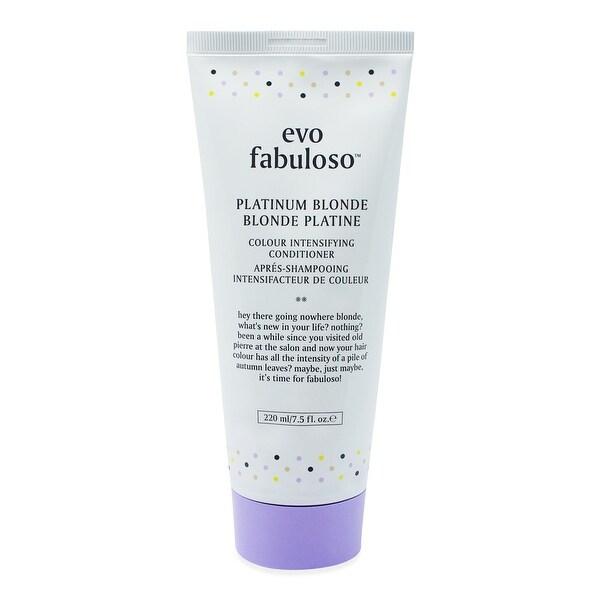 EVO Fabuloso Platinum Blonde Intensifying Conditioner 7.5 Oz