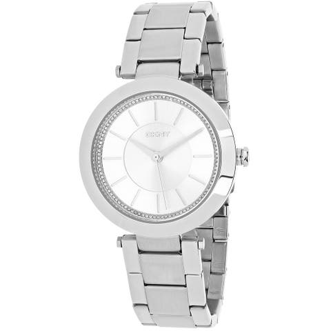 DKNY Women's Stanhope Silver Dial Watch - NY2285 - One Size
