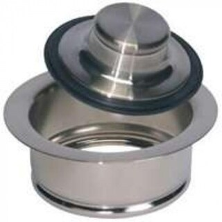 Plumb Pak PP5417DSBN Garbage Disposal Flange And Stopper, Brushed Nickel