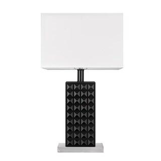 "Globe Electric 12721 Selina Single Light 20"" High LED Buffet Table Lamp"