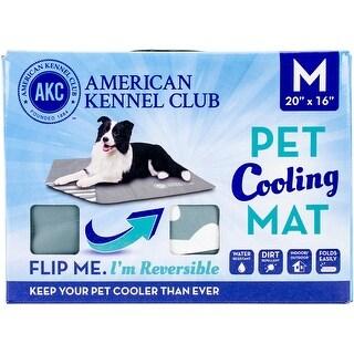 "American Kennel Club Bone Reversible Cooling Mat 20""X16""-Green"