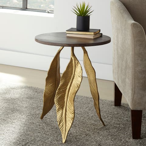 The Curated Nomad Valetta Accent Table