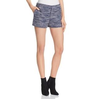 Joie Womens Shorts Metallic Knit