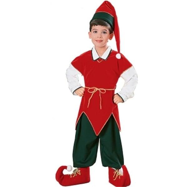 cb7f0e6030b27 Rubies Costumes 157214 Velvet Elf Child Costume Size: Small
