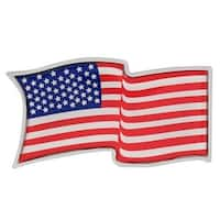 Pilot Automotive US Flag ABS Plastic Emblem
