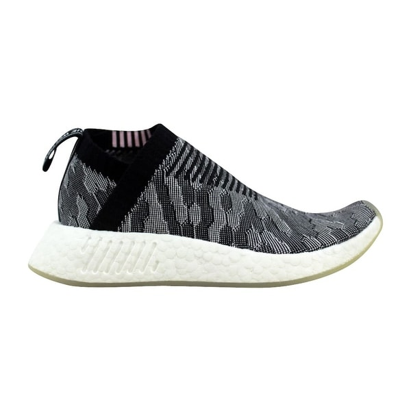 3fe51d3f32afb Shop Adidas NMD CS2 Primeknit W Black Grey-Pink Women s BY9312 Size ...