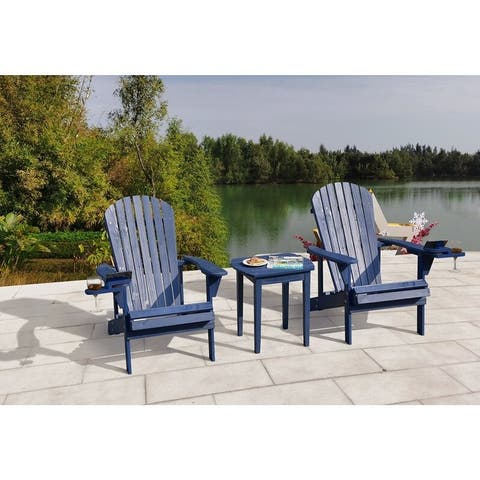 Earth Collection Adirondack Chair with phone and cup holder
