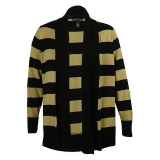 INC Women's Striped Cardigan Sweater