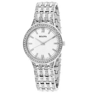 Bulova Women's Crystal 96L242 Mother of Pearl Dial watch
