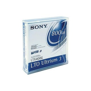 Sony 400GB & 800GB Linear Tape Open Ultrium-3, Pack of 10