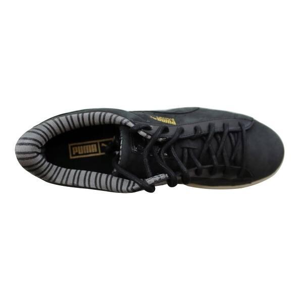 Puma Basket Citi Series Pale Khaki Beige Nubuck Leather Adult Trainers 358609-04