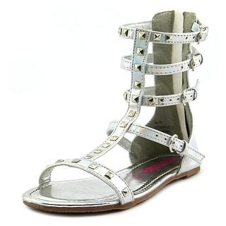 Kensie Girl Lisa EW Open Toe Leather Gladiator Sandal
