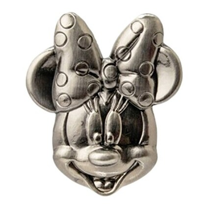 Disney Pewter Lapel Pin Minnie Mouse