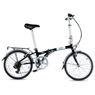Ford by Dahon Taurus 2.0 Black 7 Speed Folding Bicycle