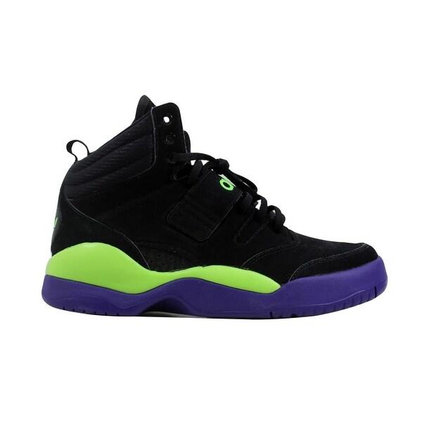 pretty nice f74a5 782a2 Adidas Menx27s Hackmore BlackPurple-Green G99098