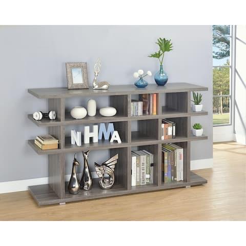 Gerard 4-tier Horizontal Open Back Bookcase