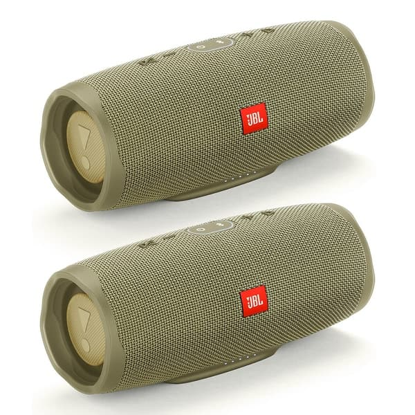 Shop Jbl Charge 4 Speakers Set Of 2 Bluetooth Portable Wireless And Waterproof Overstock 30386802