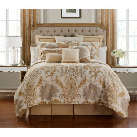 Waterford Ansonia Reversible 4PC Comforter Set