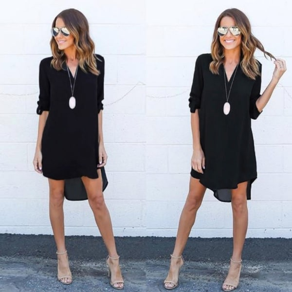 Sexy black dresses for women plus size