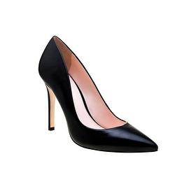 Eleanor Anukam Quintessential Black Stiletto Pumps
