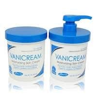 Vanicream Moisturizing Skin Cream with Pump Dispenser Plus Jar Combo Pack