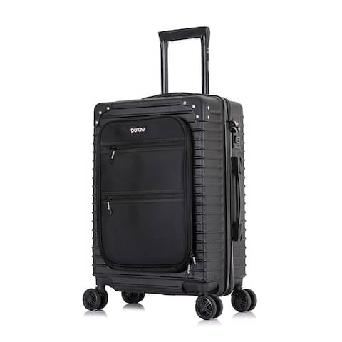 DUKAP Tour Lightweight 20'' in carry-on with integrated USB port - Black