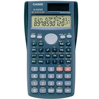 Casio Fx-300Ms 10-Digit Lcd Scientific Calculator With 229 Built-In Functions