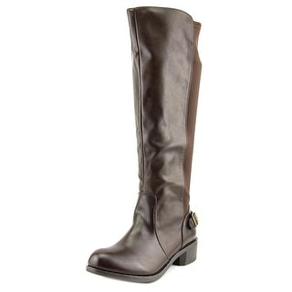 Style & Co Jayden Women  Round Toe Synthetic Black Knee High Boot