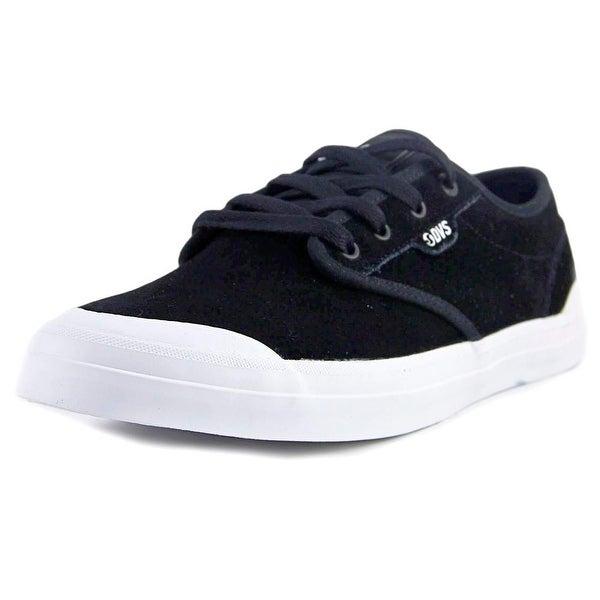 DVS Cedar Men Black/White Sneakers Shoes