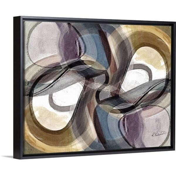 """How Bizarre"" Black Float Frame Canvas Art"