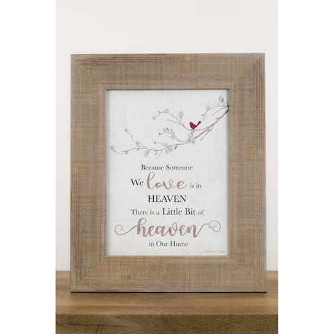 Because Someone You Love Is In Heaven Art Cardinal Sympathy Decor