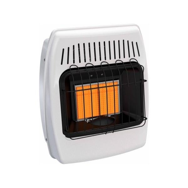 Dyna-Glo IR12NMDG-1 12000 BTU Natural Gas Infrared Vent Free Wall Heater - White