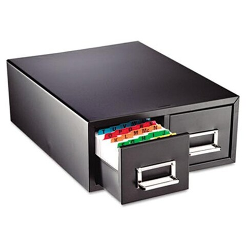 Mmf Drawer Card Cabinet Holds 1 500 5 x 8 cards 10 1/2 x 16 x 8 1/8
