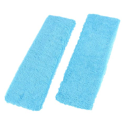 Unique Bargains 2Pcs Stretchy Terrycloth Tennis Yoga Sports Head Sweat Band Headband For Women